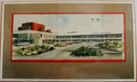 Sketch of Ansett New Zealand building