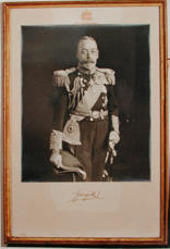 Photograph of King George V
