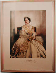 Photograph of Elizabeth R (wife of George VI, now the Queen Mother)