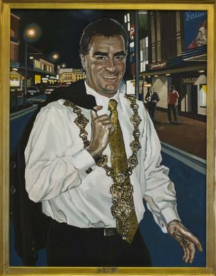 Portrait of Mark Blumsky, Mayor