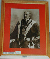 Alfred Kingcome Newman, Mayor