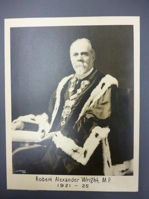 Robert Alexander Wright, Mayor