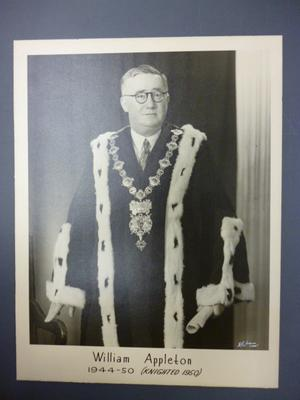 William Appleton, Mayor