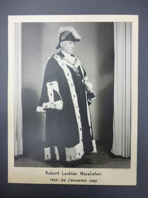 Robert Lachlan Macalister, Mayor