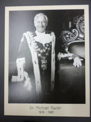 Michael Fowler, Mayor