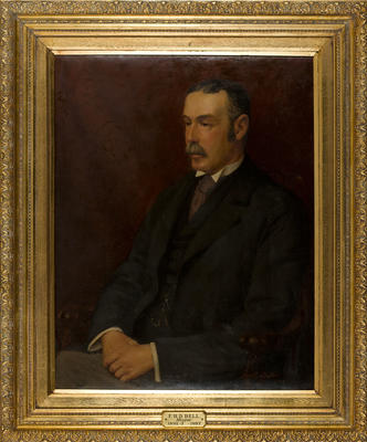 Portrait of Francis Henry Dillon Bell, Mayor