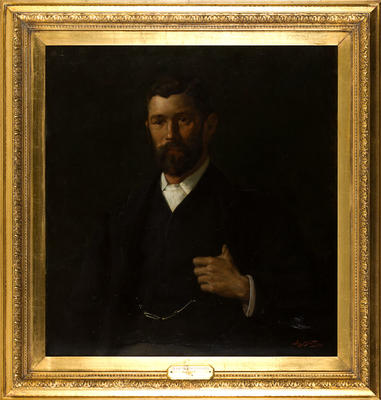 Portrait of Alfred de Bathe Brandon, Mayor