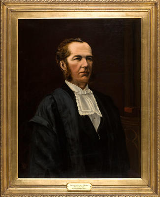 Portrait of Sir George Maurice O'Rorke