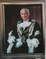 Portrait of Sir Michael Fowler, Mayor