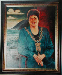 Portrait of Fran Wilde, Mayor