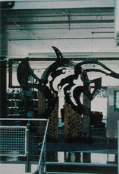 Waharoa [Bird Gate] from the Installation Nga Tohu no Te Wepu, 1990