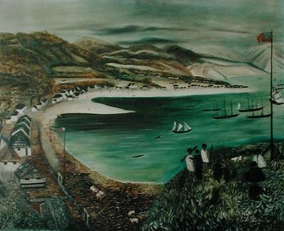Part of Lambton Harbour in Port Nicholson; ART00245